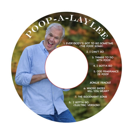 Poop-a-laylee disc cover